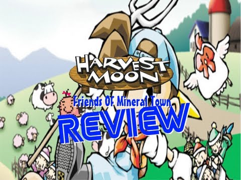 Harvest Moon Friends Of Mineral Town Review GBA - JackPlaysGames
