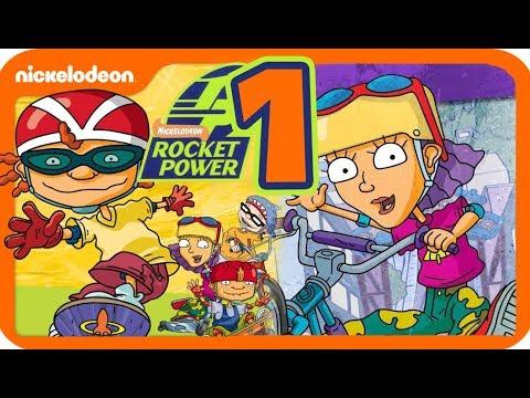 Rocket Power: Beach Bandits Walkthrough Part 1 (Gamecube, PS2) Ocean Shores