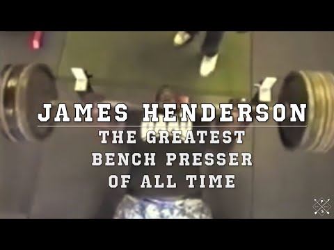 JAMES HENDERSON - THE COMPLETE BENCH PRESS WORKOUT 600x3 & 505 INCLINE