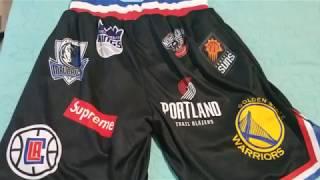 30$ Supreme x Nike x NBA Shorts SS18 Showcase Video