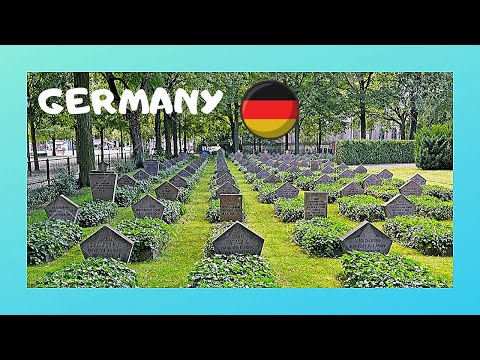 POSTDAM, the WW2 RUSSIAN SOLDIERS' CEMETERY (GERMANY)