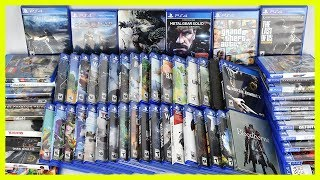 PS4 Video Game Collection 2018