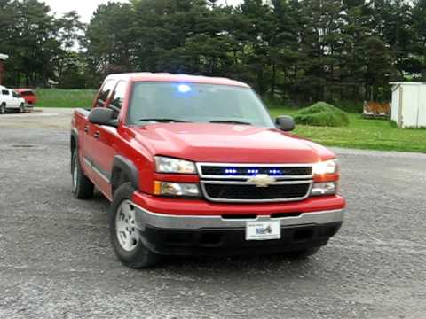 2006 Chevy 1500 Firefighters Pov Blue Lights   YouTube