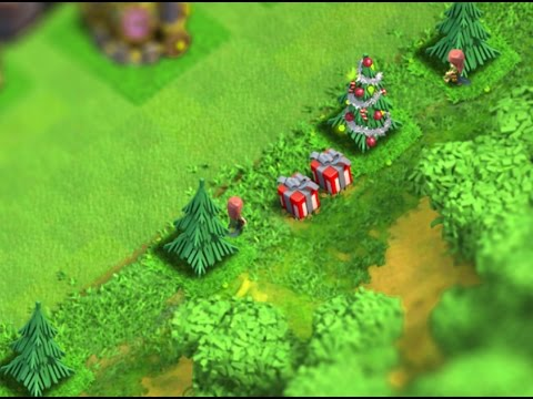 Clash of Clans - Tip #1 How to Grow Trees & Special Items Around Edge of Base