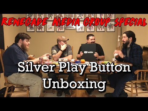 Renegade Media Group Special - Silver Play Button Unboxing