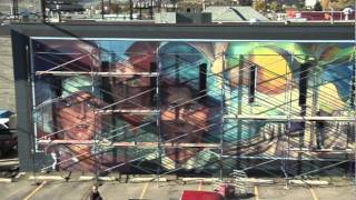 Downtown Vernon Mural Project - Sveva Caetani