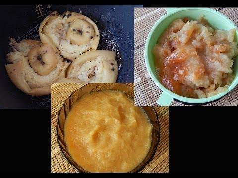 Печеные яблоки в мультиварке. Яблочное пюре