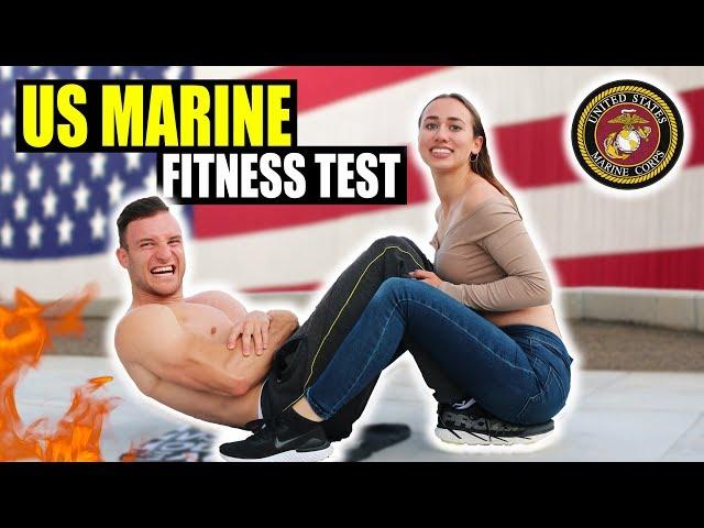 Ich mache den US MARINE FITNESS TEST ohne Vorbereitung! | Extremer Selbstversuch