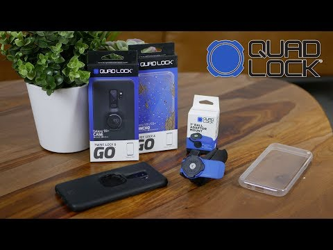 Test Du Support Smartphone Pour Moto Quad Lock : Le Quart De Tour Robuste !