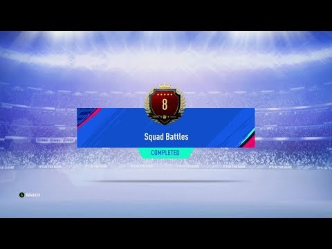 TOP100 SQUAD BATTLES REWARDS 8TH IN THE WORLD AND WALKOUT PACKED FIFA 19 ULTIMATE TEAM