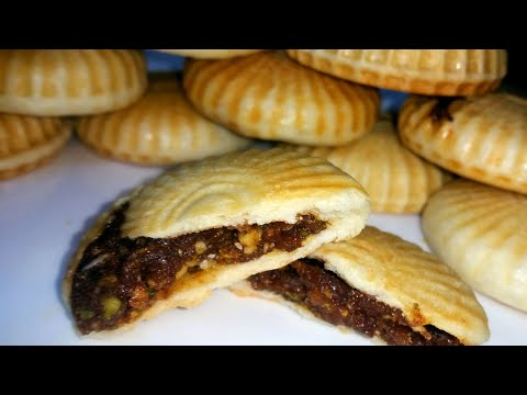 "Arabian Sweet ""Date Palms Cookies"" || Khajur Biscuits || *royal Dessert*"