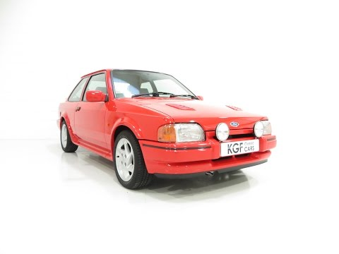 A Remarkable Ford Escort RS Turbo Series 2 with an Incredible 22,703 Miles - SOLD!