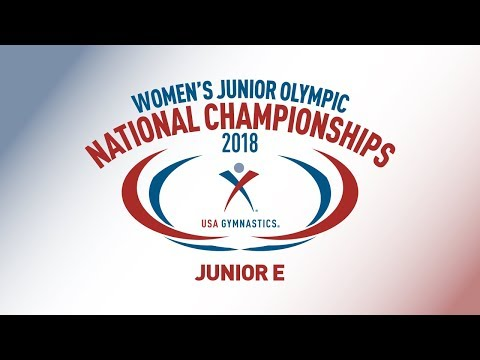 2018 Women's Junior Olympic National Championships - Junior E