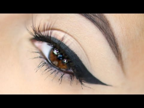 How To Perfect Winged Eyeliner   Easiest Technique