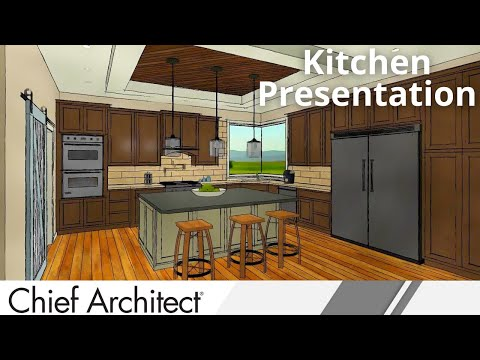 Chief Architect X8 Kitchen Demonstation