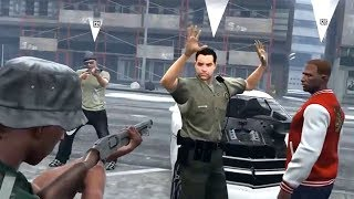 ANGRY COP RAGES SO WE HELD HIM CAPTIVE! (GTA 5 RP)