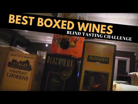 The Best Boxed Wines: Blind Tasting Challenge
