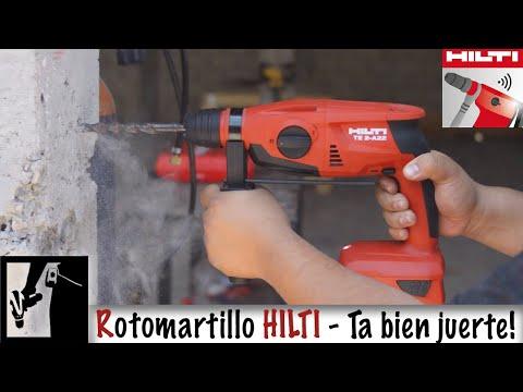 Rotomartillo HILTI TE 2-A22 y App Hilti Connect