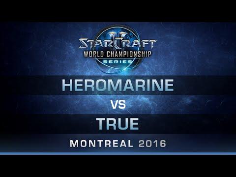 SC2 - HeRoMaRinE vs TRUE [TvZ] - RO4 - Bo5 - DreamHack Zowie Open Montreal 2016
