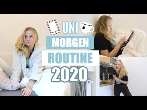 Uni-Morgenroutine 2020 // 18qm Wohnung, Produktiv, Studentenleben