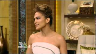 Jennifer Lopez Interview Live with Kelly & Michael 5/19/14