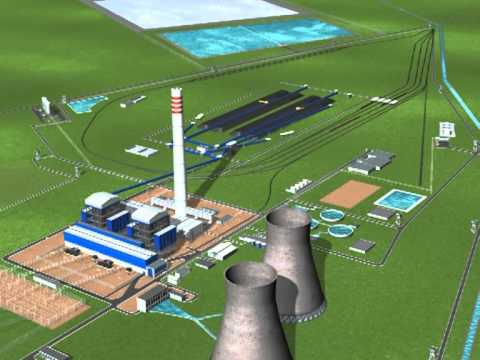 3D WALK THROUGH THERMAL POWER PROJECT INDIA