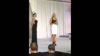 Miss British Columbia American Beauty 2015 On Stage Interview