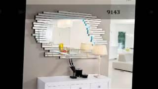 Gambar cover Espejos y entradas decorativos de cristal moderno
