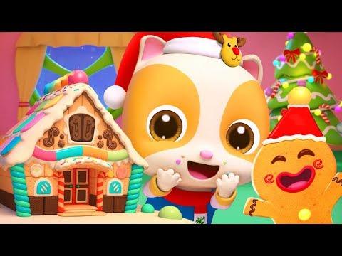 Christmas Gingerbread House   Christmas Songs   Nursery Rhymes   Kids Songs   Kids Cartoon   BabyBus