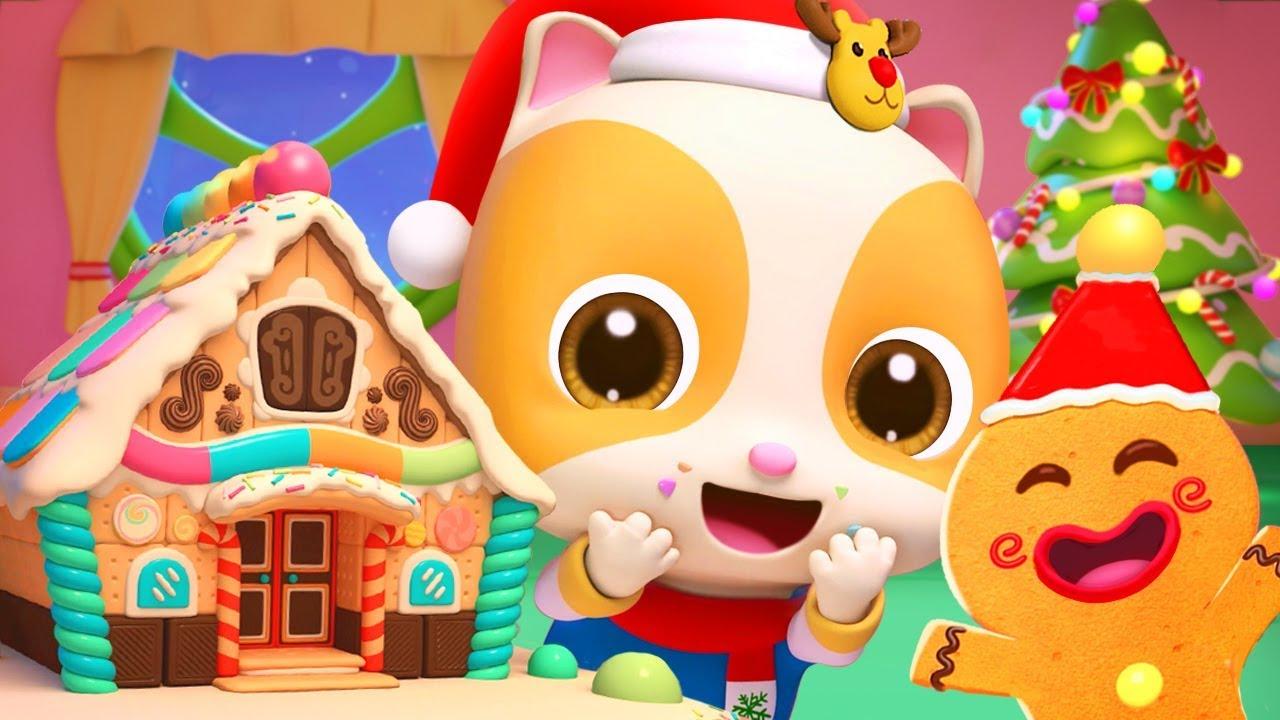 Christmas Gingerbread House | Christmas Songs | Nursery Rhymes | Kids Songs | Kids Cartoon | BabyBus