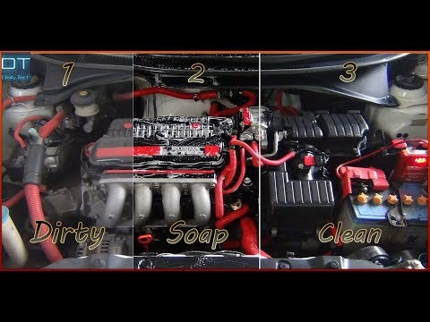 """How to Clean Engine Bay at home """"SUPER CLEAN"""" DIY"""
