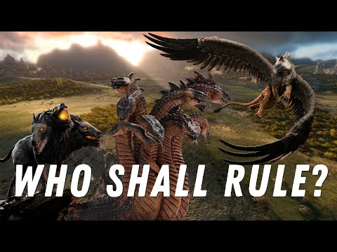 Who is the best Monster? A Total War Saga Troy: Mythos DLC |
