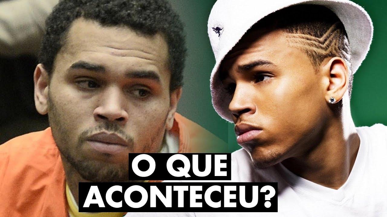 O que aconteceu com Chris Brown?