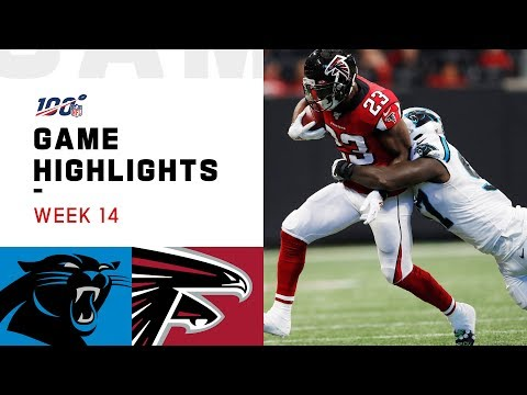 Panthers vs. Falcons Week 14 Highlights | NFL 2019