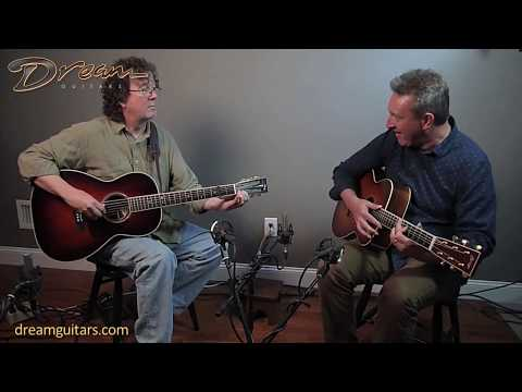 Performance at Dream Guitars - Al Petteway and C Carroll - Dream Jam