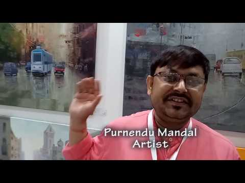 """WORLD ART DUBAI"" International Paintings Exhibition by Purnendu Mandal in DUBAI, UAE - 2017"