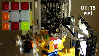 A Raspberry Pi Rubik's cube solver