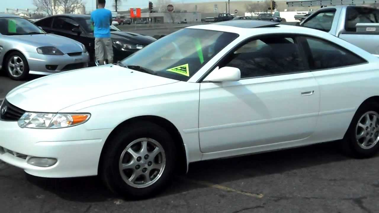 Toyota Camry Solara Se 2dr Coupe 4cyl Fresh Trade