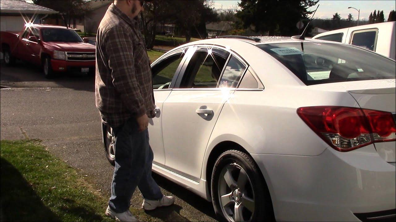 Car Window Rain Guards >> AVS In Channel Window Visors on a 2014 Chevy Cruze - YouTube