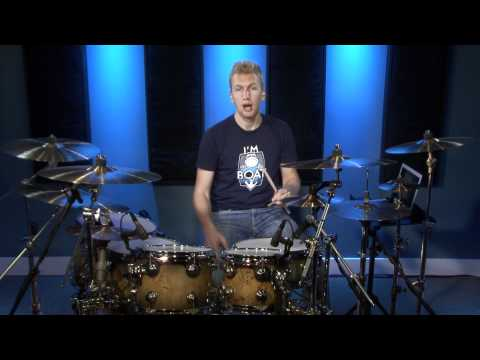 Beginner 16th Note Linear Drum Fills - Drum Lesson (DRUMEO)