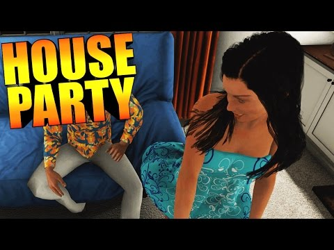 FREE PARTY SIMULATOR GAME!? STARTING FIGHTS, DATING GIRLS &