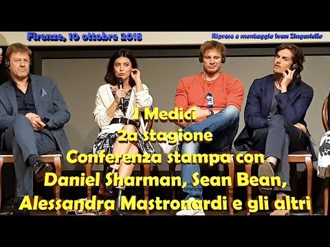 I Medici 2: Sean Bean, Daniel Sharman e il cast in conferenza stampa INTEGRALE