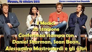 I Medici 2: Sean Bean, Daniel Sharman e il cast in conferenza stampa (INTEGRALE)
