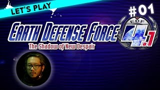 [1] Let's Play Earth Defense Force 4.1: The Shadow of New Despair mit Ian | 19.02.2016