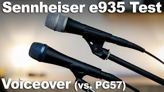 Mikrofontest für Voiceovers | Sennheiser e935 vs. SHURE PG57