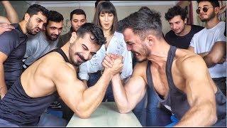 BİLEK GÜREŞİ YARIŞMASI !! ft. Halil İbrahim Göker