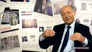 Traian Basescu, despre Romania cu Laura Chiriac