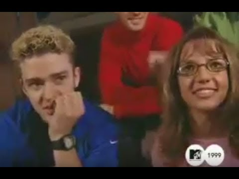 Britney Spears + 'Nsync - 1999 MTV Interview