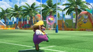 Mario and Sonic at The Rio 2016 Olympic Games - Rugby Sevens - Team Luigi vs Team Metal Sonic