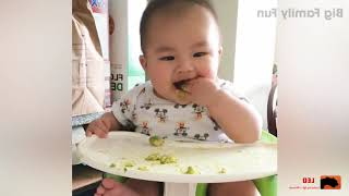 Cutest Baby Eating Moment - Funny Baby Video